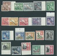 Malta Stamps Sg234 Sg 234 Mostly All Mnh Fresh See Description   Self Government Set - Malta