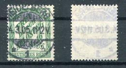 D. Reich Dienst Michel-Nr. 11 Vollstempel - Dienstpost