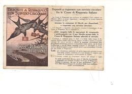 P153 Illustratori CODOGNATO PLINIO PRESTITO CASSE RISPARMIO 1922 VIAGGIATA - Autres Illustrateurs