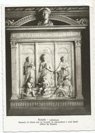 W3799 Fiesole (Firenze) - Cattedrale - Dossale Di Altare Con La Vergine - Mino Da Fiesole / Non Viaggiata - Italia