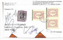 3096i: Heimatbeleg 2842 Edlitz, Nachnahmebeleg- Briefvorderseite 28.4.2000 - Neunkirchen