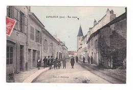 Conliège.39.Jura.Rue Neuve.1908 - Autres Communes