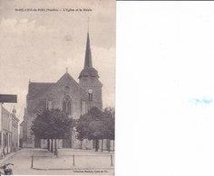 Saint Hilaire De Riez - L'église Et La Mairie - Saint Hilaire De Riez