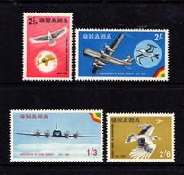 GHANA   1958    Ghana  Airways    Set  Of  4    MH - Ghana (1957-...)