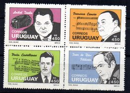 Serie Nº 1389/92 Uruguay - Uruguay