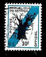 SENEGAL S13° 30f Bleu Et Noir Baobab (10% De La Cote + 0,15) - Senegal (1960-...)