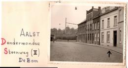 Dendermondse C.1950 Steenweg  Aalst Alost De Bom - Photo C.7x10cm  Belgique - Lieux