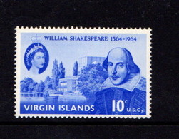 BRITISH  VIRGIN  ISLANDS    1964     400th  Birth  Anniv  Of  William  Shakespeare    MNH - British Virgin Islands