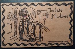Schöne Postkarte Aus Leder Ungebraucht/ Nice Postcard Made Of Leather Unused (74) - Ansichtskarten