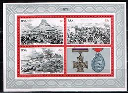 AFRIQUE DU SUD/SOUTH AFRICA/Neufs **/MNH**/1979 - Scènes De Batailles De La Guerre Du Zoulouland - Blocks & Sheetlets