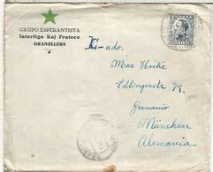 GRANOLLERS BARCELONA CC ALEMANIA GRUPO ESPERANTO CON CARTA - Esperanto