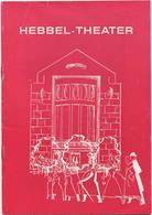 """Theaterprogramm - Hebbel-Theater Berlin 1973 - Leitung Hela Gerber-Külüs - Komödie """"Der Tag, An Dem Der Papst Gekidnappt - Revistas & Periódicos"""