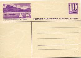"""162 - 9 - Entier Postal Neuf Avec Illustration """"Höfnerländchen Am Etzel"""" - Ganzsachen"""
