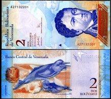 10 Pieces Venezuela-2 Bolivars 2007 - 13 UNC - Venezuela