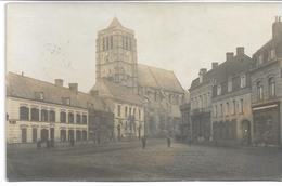 CARTE -PHOTO WW1 PAS-DE-CALAIS HENIN-LIETARD -HENIN BEAUMONT Etat De La Commune En 1917 Occupation Allemande - Henin-Beaumont
