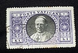 Pape XI 1933 - Oblitérés