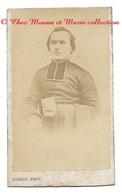 CHERBOURG - CURE MOINE FRERE PERE RELIGIEUX - MANCHE - PHOTO CDV RIDEAU - Anciennes (Av. 1900)