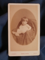 Photo CDV Chambay à Paris - Portrait Petit Garçon (Edouard Porthmann), Circa 1885-90 L448A - Foto's