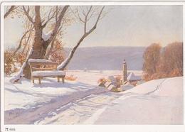 Paul Hey Reihe 635 Nr 6264 Wintersonne Color Ungelaufen TOP-Erhaltung Ackermanns Kunstverlag Ungelaufen - Hey, Paul