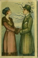 BUSI SIGNED 1910s POSTCARD - COUPLE - N. 180 (BG387) - Busi, Adolfo
