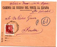 Carta Con Matasellos Ambulante De 1938 Y Matasellos Pozaldez - 1931-50 Cartas