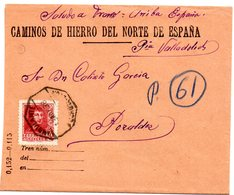 Carta Con Matasellos Ambulante De 1938 Y Matasellos Pozaldez - 1931-Oggi: 2. Rep. - ... Juan Carlos I