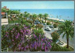 °°° Cartolina N. 21 Grottammare Lungomare E Spiaggia Viaggiata °°° - Ascoli Piceno