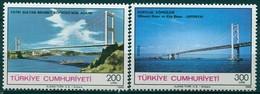Turquie - 1988 - Yt 2570/2571 - Inauguration De 2 Ponts - ** - Unused Stamps