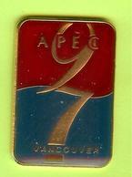 Pin's APEC 97 Vancouver - 3FF30 - Badges
