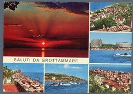 °°° Cartolina N. 25 Saluti Da Grottammare Vedutine Viaggiata °°° - Ascoli Piceno
