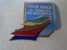 PIN'S   RANK XEROX    Email  Grand Feu - Computers
