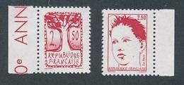 CZ-17: FRANCE:lot Avec  N°2272b**-2273a** SANS PHOSPHORE - Variétés Et Curiosités