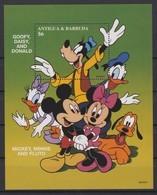 2436  Walt Disney  Antigua & Barbuda - 1997 - Mickey And His Friends Drawings Of Walt Disney Productions . - Disney