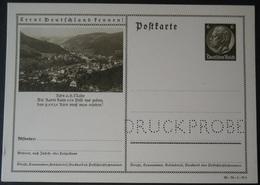 DR Ganzsache P236 - Druckvermerk 36-78-1-B8 Druckprobe -- Kirn An Der Nahe (686) - Allemagne