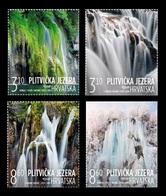 Croatia 2019 Mih. 1397/400 Waterfalls Of Plitvice Lakes MNH ** - Croacia