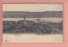 OUDE POSTKAART ZWITSERLAND - SCHWEIZ -  ZOLLIKON - ZH Zurich