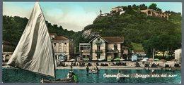 °°° Cartolina N. 28 Cupramarittima - Spiaggia Vista Dal Mare Viaggiata °°° - Ascoli Piceno