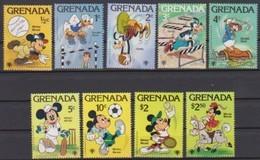 2489  WALT DISNEY -  GRENADA -  Internationaal Jaar Van Het Kind - Personages Van Walt Dicney . - Disney