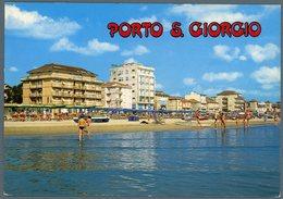 °°° Cartolina N. 29 Porto San Giorgio Veduta Della Spiaggia Nuova °°° - Ascoli Piceno