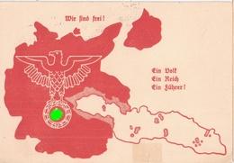 Propaganda Karte Reichenberg - Wir Sind Frei ! 4.12.1938 ! Wahl Und Bekenntnistag Im Befreiten Sudetenland Sonderstempel - Allemagne