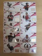 Cyworld Cash Card, LG Twins Baseball Club, Set Of 10 - Korea, South