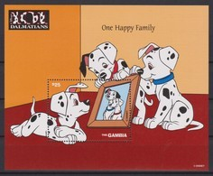 2460  -  The GAMBIA - Disney - 1997 - 101 Dalmatiërs ( One Happy Family ). - Disney