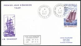 Franz. Geb. I.d. Antarktis, Mi-Nr 259 - 270   FDC - FDC