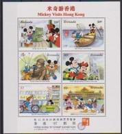 2496  WALT DISNEY -  GRENADA -  MICKEY Visits Hong Kong II   . - Disney