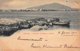 CPA TRAPANI - Panorama Col Monte S. Giuliano - Trapani