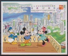 2492  WALT DISNEY -  GRENADA -  Hong Kong '97 Stamp Exhibition . - Disney