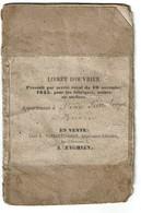 Livret D'ouvrier - Félix Pierre Joseph à Biéviene - 4 Scans - Documents Historiques