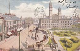 Paisley, Scotland, UK, 1906 ; Clark Halls & Dunn Square - Renfrewshire