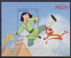2479  WALT DISNEY   THE GAMBIA   MULAN  . - Disney