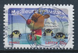 France - Meilleurs Voeux 2006 YT A98 (3987) Obl. Cachet Rond - Adhésifs (autocollants)